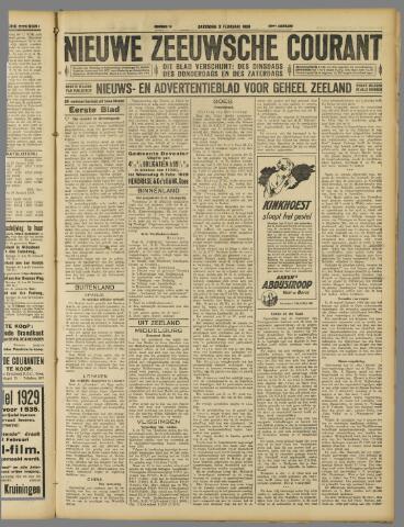 Nieuwe Zeeuwsche Courant 1929-02-02