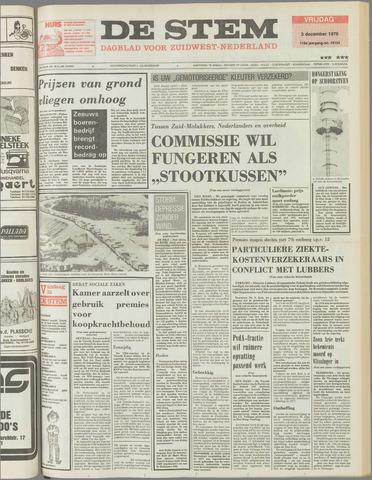 de Stem 1976-12-03