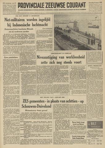 Provinciale Zeeuwse Courant 1958-03-08