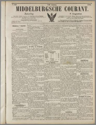 Middelburgsche Courant 1903-08-08
