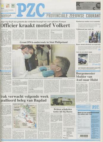 Provinciale Zeeuwse Courant 2003-03-28