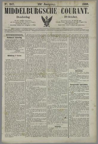 Middelburgsche Courant 1888-10-18