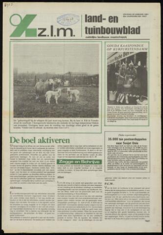 Zeeuwsch landbouwblad ... ZLM land- en tuinbouwblad 1981-01-30