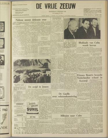 de Vrije Zeeuw 1962-11-01