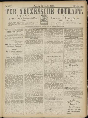 Ter Neuzensche Courant. Algemeen Nieuws- en Advertentieblad voor Zeeuwsch-Vlaanderen / Neuzensche Courant ... (idem) / (Algemeen) nieuws en advertentieblad voor Zeeuwsch-Vlaanderen 1900-10-27