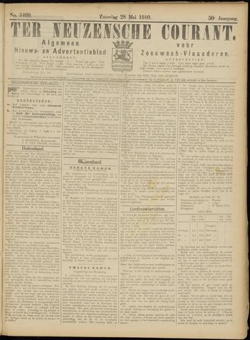 Ter Neuzensche Courant. Algemeen Nieuws- en Advertentieblad voor Zeeuwsch-Vlaanderen / Neuzensche Courant ... (idem) / (Algemeen) nieuws en advertentieblad voor Zeeuwsch-Vlaanderen 1910-05-28