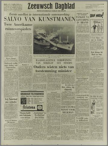 Zeeuwsch Dagblad 1962-04-27