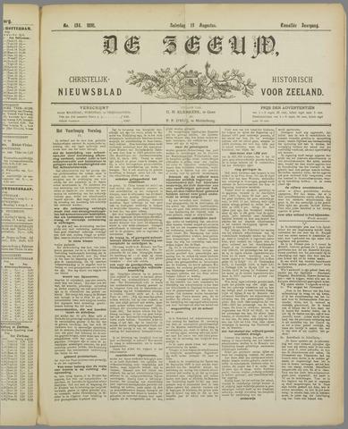 De Zeeuw. Christelijk-historisch nieuwsblad voor Zeeland 1898-08-13
