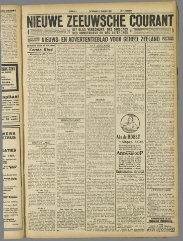 Nieuwe Zeeuwsche Courant 1927-01-08