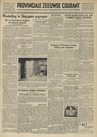 Provinciale Zeeuwse Courant 1950-02-27