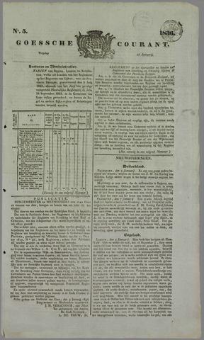 Goessche Courant 1836-01-15
