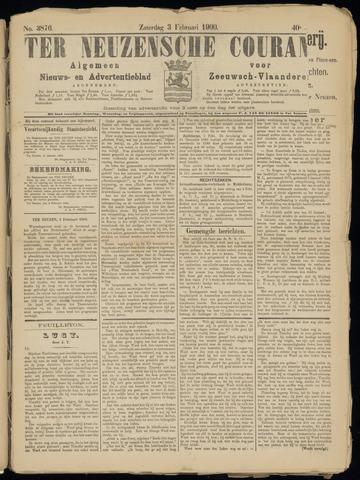 Ter Neuzensche Courant. Algemeen Nieuws- en Advertentieblad voor Zeeuwsch-Vlaanderen / Neuzensche Courant ... (idem) / (Algemeen) nieuws en advertentieblad voor Zeeuwsch-Vlaanderen 1900-02-03