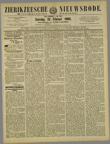 Zierikzeesche Nieuwsbode 1902-02-22