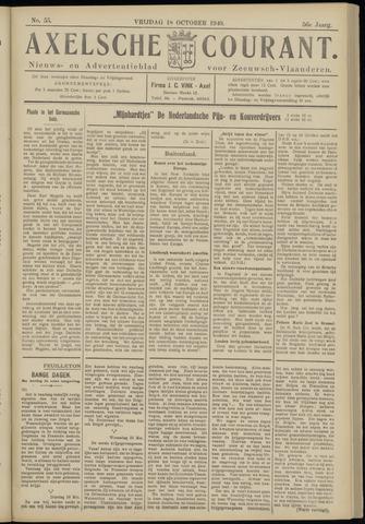Axelsche Courant 1940-10-18