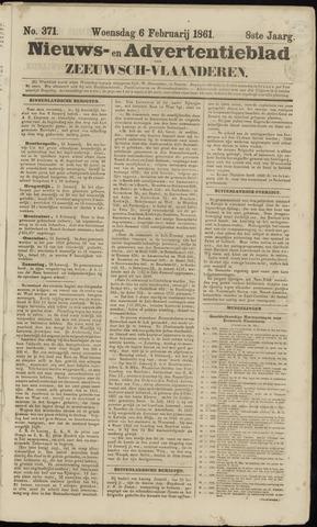 Ter Neuzensche Courant. Algemeen Nieuws- en Advertentieblad voor Zeeuwsch-Vlaanderen / Neuzensche Courant ... (idem) / (Algemeen) nieuws en advertentieblad voor Zeeuwsch-Vlaanderen 1861-02-06
