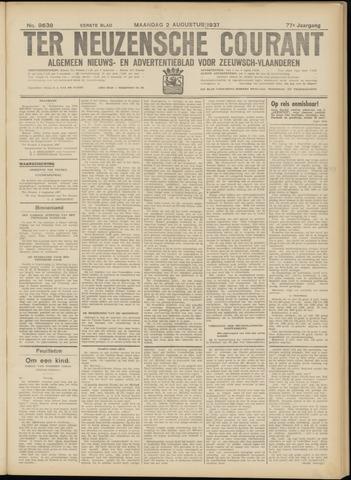 Ter Neuzensche Courant. Algemeen Nieuws- en Advertentieblad voor Zeeuwsch-Vlaanderen / Neuzensche Courant ... (idem) / (Algemeen) nieuws en advertentieblad voor Zeeuwsch-Vlaanderen 1937-08-02