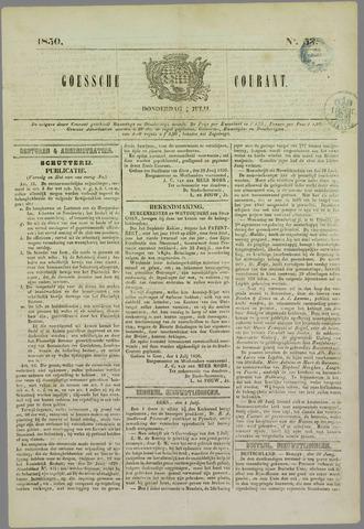 Goessche Courant 1850-07-04