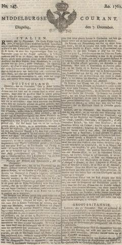 Middelburgsche Courant 1762-12-07