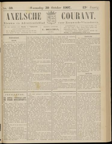 Axelsche Courant 1907-10-30