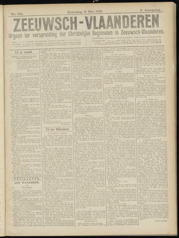 Luctor et Emergo. Antirevolutionair nieuws- en advertentieblad voor Zeeland / Zeeuwsch-Vlaanderen. Orgaan ter verspreiding van de christelijke beginselen in Zeeuwsch-Vlaanderen 1920-05-15