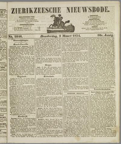 Zierikzeesche Nieuwsbode 1854-03-02