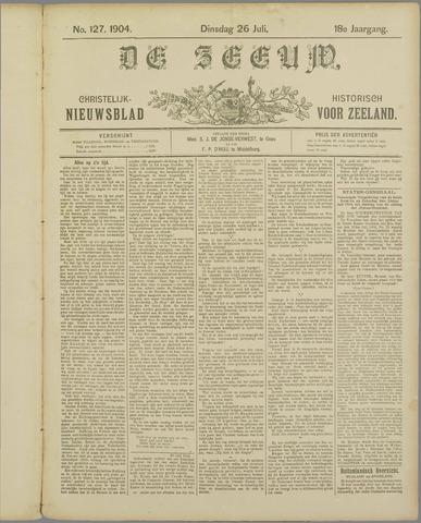De Zeeuw. Christelijk-historisch nieuwsblad voor Zeeland 1904-07-26