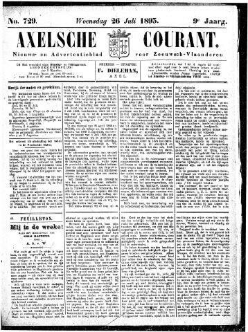 Axelsche Courant 1893-07-26