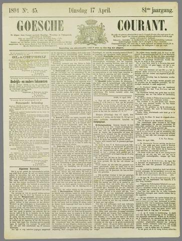 Goessche Courant 1894-04-17