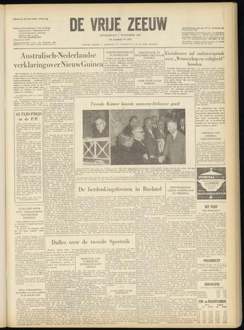 de Vrije Zeeuw 1957-11-07