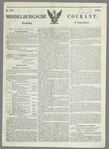 Middelburgsche Courant 1862-09-02