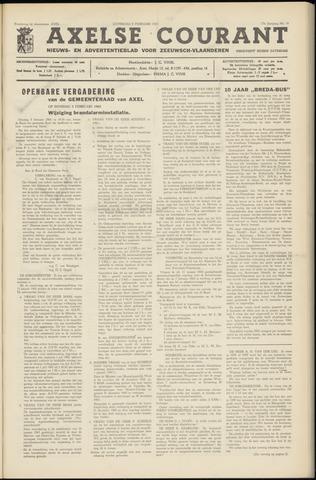 Axelsche Courant 1963-02-09