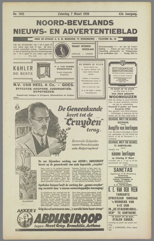 Noord-Bevelands Nieuws- en advertentieblad 1936-03-07
