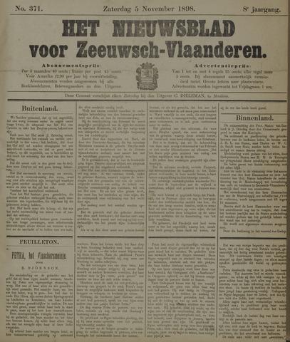 Nieuwsblad voor Zeeuwsch-Vlaanderen 1898-11-05