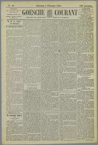 Goessche Courant 1919-02-01