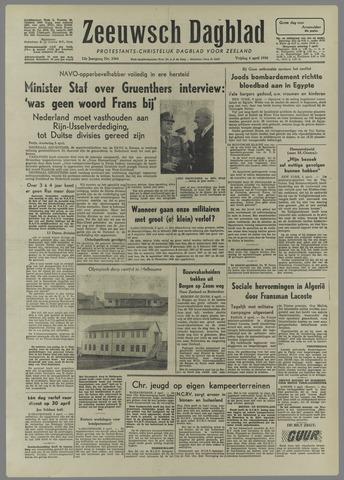 Zeeuwsch Dagblad 1956-04-06