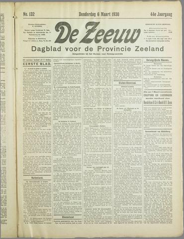 De Zeeuw. Christelijk-historisch nieuwsblad voor Zeeland 1930-03-06