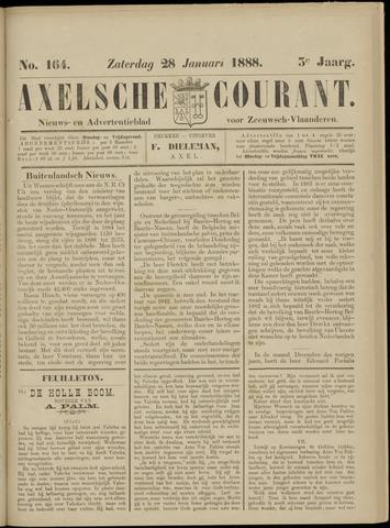 Axelsche Courant 1888-01-28