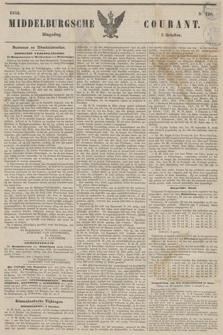 Middelburgsche Courant 1852-10-05
