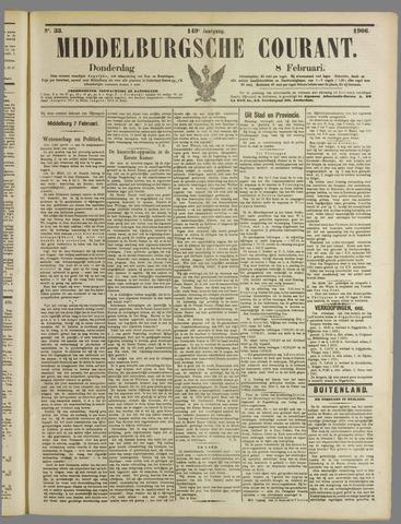 Middelburgsche Courant 1906-02-08