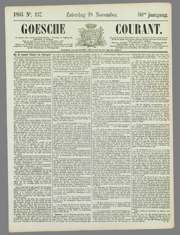 Goessche Courant 1893-11-18