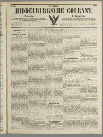Middelburgsche Courant 1908-08-01
