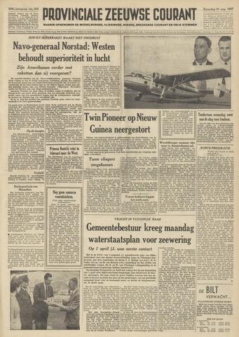 Provinciale Zeeuwse Courant 1957-08-31