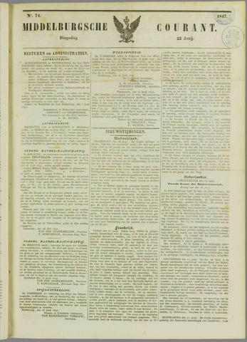 Middelburgsche Courant 1847-06-22