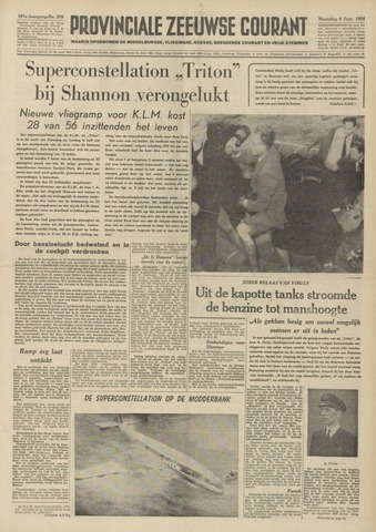 Provinciale Zeeuwse Courant 1954-09-06