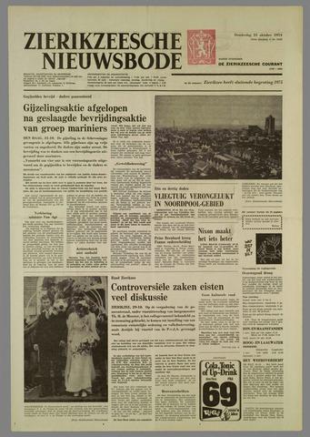 Zierikzeesche Nieuwsbode 1974-10-31