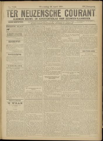 Ter Neuzensche Courant. Algemeen Nieuws- en Advertentieblad voor Zeeuwsch-Vlaanderen / Neuzensche Courant ... (idem) / (Algemeen) nieuws en advertentieblad voor Zeeuwsch-Vlaanderen 1926-04-28