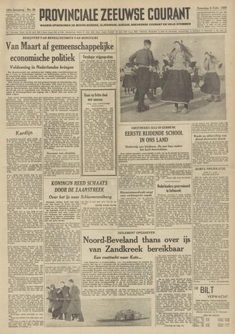 Provinciale Zeeuwse Courant 1954-02-06