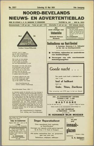 Noord-Bevelands Nieuws- en advertentieblad 1951-05-12