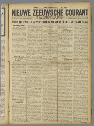 Nieuwe Zeeuwsche Courant 1924-09-02