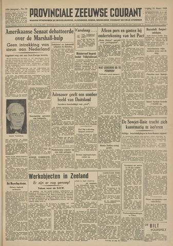 Provinciale Zeeuwse Courant 1949-03-25